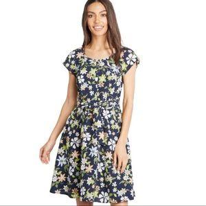 NWT Modcloth Befits Your Brilliance A-Line Dress